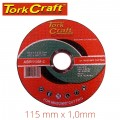 CUTTING DISC MASONRY 115 X 1.0 X 22.22MM