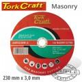 CUTTING DISC MASONRY 230 X 3.0 X 22.22MM