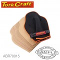 SANDING GLOVE WITH 60 80 120 GRIT REPLACEMENT SHEETS HAND