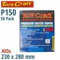 PREMIUM WATERPROOF PAPER  150 GRIT 230  X 280 (50 PIECE) AUTOMOTIVE