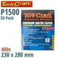 PREMIUM WATERPROOF PAPER  1500 GRIT 230  X 280 (50 PIECE) AUTOMOTIVE