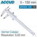 ACCUD VERNIER CALIPER 0-150MM ( 0.02MM)