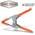 PONY 3' SPRING CLAMP WITH PROTECTIVE HANDLES & TIPS