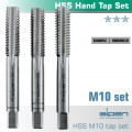 HAND TAP SET IN POUCH M10 HSS 1.5MM PITCH