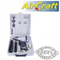 AIR IMPACT WRENCH 1/2' 17 PIECE KIT SINGLE HAMMER
