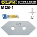 OLFA BLADES MCB-1 5/PACK 20MM