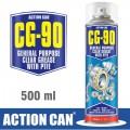 CG-90 500 ML GEN PURPOSE CLEAR GREASE W/PTFE