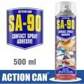 SA-90 500ML CONTACT ADHESIVE SPRAY