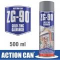 ZINC GALVANISED SPRAY ZG-90 SILVER 500ML