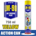 LINE MARKING PAINT LM-90 YELLOW 750ML