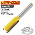 ROUTER BIT STRAIGHT 7/16' (11.11MM)