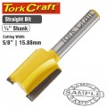 ROUTER BIT STRAIGHT 5/8' (15.88MM)