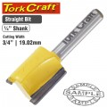 ROUTER BIT STRAIGHT 3/4' (19MM)