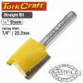 ROUTER BIT STRAIGHT 7/8' (22.22MM)