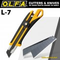 OLFA 18MM HEAVY DUTY WHEEL LOCK  CUTTER WITH X5 FREE LBB BLADES
