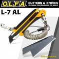 OLFA 18MM HEAVY DUTY AUTO LOCK  CUTTER WITH X5 FREE LBB BLADES