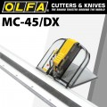 OLFA MOUNT BOARD MAT CUTTER WITH NON SLIP RULER