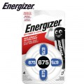 ENERGIZER HEARING AID BATTERY AZ675 BLUE 4 PACK (MOQ 6)