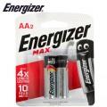 ENERGIZER MAX AA - 2 PACK (MOQ 20)