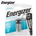 ENERGIZER MAXPLUS AAA - 2 PACK (MOQ12)
