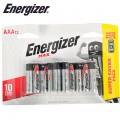 ENERGIZER MAX: AAA - 12 PACK (MOQ 12)