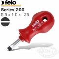 FELO 200 SL5.5X1.0X25 S/DRIVER SHOCK PROOF