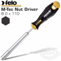 FELO 428 8.0X110 NUT DRIVER ERGONIC MAGNETIC