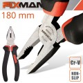 FIXMAN INDUSTRIAL COMBINATION PLIERS 7'/187MM