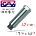 EXTENTION 1/8 X 1/8 X 36 X 42 PACKAGED