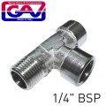 T CONNECTOR 1/4' FFM