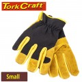 GLOVE LEATHER PALM  SMALL