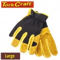 GLOVE LEATHER PALM LARGE