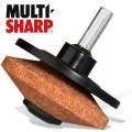 ROTARY MOWER & TOOL SHARPENER CORUNDUM WHEEL FOR DRILL
