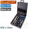 THREAD REPAIR KIT M10 INTERNAL (METAL BOX)