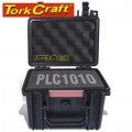 HARD CASE 225X190X170MM OD WITH FOAM BLACK WATER & DUST PROOF (191213)