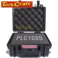 HARD CASE 250X220X120MM OD WITH FOAM BLACK WATER & DUST PROOF (221609)