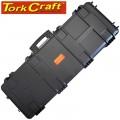 PLASTIC CASE 1040 X 350 X 130MM OD WITH FOAM BLACK RIFLE CASE WATER &