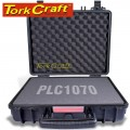 HARD CASE 410X340X220MM OD WITH FOAM BLACK WATER & DUST PROOF (443412)