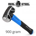 HAMMER SLEDGE/CROSS STRIKE 900G 2LB GRAPH. HANDLE REAL STEEL