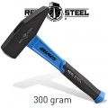 HAMMER MACHINIST 300G 10.5OZ GRAPH. HANDLE REAL STEEL