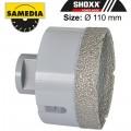DIAMOND DRY CORE BIT 110MM X 35MM X M14 IND PORCELAIN & CERAMICS MASTE