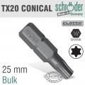 CLASSICAL BIT CONICAL TX20 X 25MM