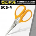 OLFA SCS-4 PRECISION  APPLIQUE SCISSORS