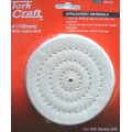 COTTON BUFF REPLACEMENT 100MM CARDED