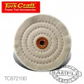 BUFFING PAD MEDIUM 150MM TO FIT 12.5MM ARBOR/SPINDLE
