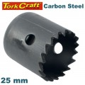 HOLE SAW CARBON STEEL 25MM
