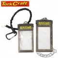 PHONE PROTECTION POUCH 3PCE SET 2 X POUCH AND 1 X LANYARD PVC