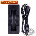 BATTERY CHARGER USB 18650 LI-ION AVG, 800MAH 1PC 5V/1A