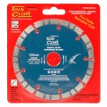 DIAMOND BLADE 125 X 22.22MM TURBO/SEGM.LASER