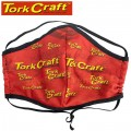 POLYEST. FACE MASK DBL LAYER WASH/RE-USEABLE TORK CRAFT BRAND ONE SIZE